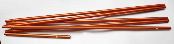 PakCanoe 170 - floor rod without clips