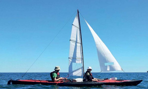 Big sail system for Triton advanced 2/3-seater