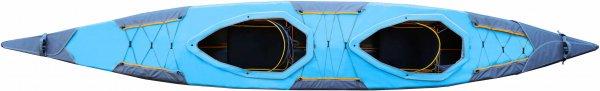 2-person-deck Puffin Saranac blue