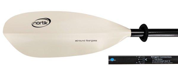 Allround Fiberglass 2pcs | 240 | King-Pin