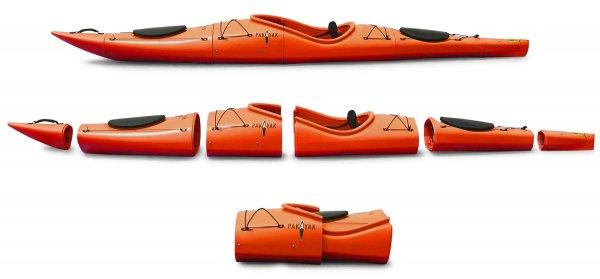 Pakayak Bluefin 142 habanero (orange)