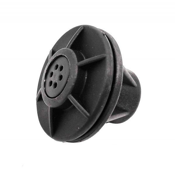Overpressure valve, black