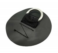 PackRafts - D-ring with round patch S (black)